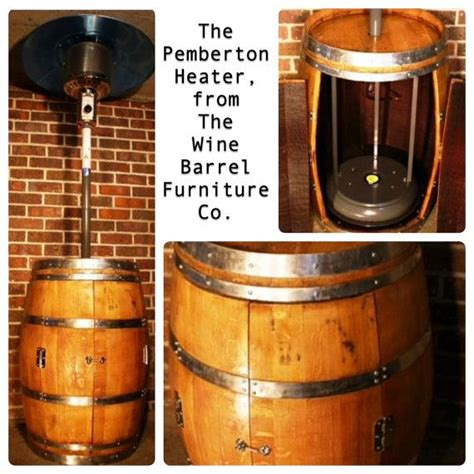 the pemberton wine barrel patio heater from the wine