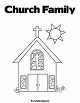 Church Coloring Pages Drawing Elevator Simple Sheets Printable Colouring Truth Advent Fear Alphabet Belt Getdrawings Getcolorings Popular Coloringhome sketch template