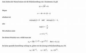 Wurzel Berechnen : mp forum wurzel einer komplexen zahl matroids matheplanet ~ Themetempest.com Abrechnung