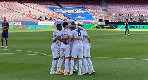 Barcelona vs Real Madrid: Federico Valverde abrió el ...