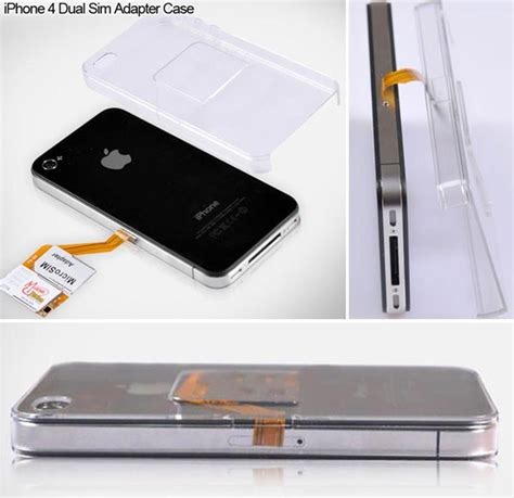 dual sim iphone dual sim for iphone 4 lets you switch networks on the fly