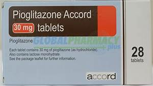 Actos (Pioglitazone HCI) Generic - works with insulin helping to control blood sugar levels for ... Pioglitazone