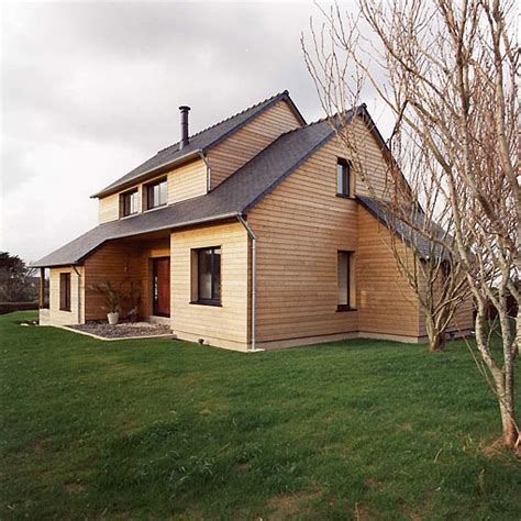 maison ossature bois bretagne mzaol