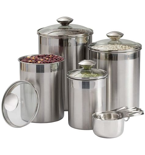 Canisters For Kitchen Counter by Beautiful Canisters Sets For The Kitchen Counter 8