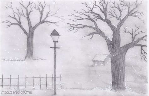 easy landscaping drawings easy landscape drawings for beginners drawing of sketch