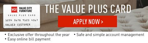 Other consumer accounts may also be eligible. Special Financing Options and Plans | Value City Furniture