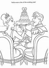Coloring Pages Disney Space Adults Sheets Princess Weddings Para Getdrawings sketch template