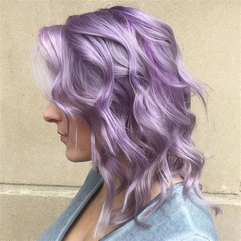 purple hair color styles 20 swoon worthy lilac hairstyles 9168
