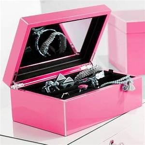 Boite À Bijoux Design : jolie bo te bijoux au design pur avec miroir sur ~ Melissatoandfro.com Idées de Décoration