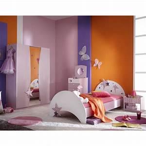 Kinderzimmer Vorhänge Mädchen : kinderzimmer sternchen kinderbett nako kleiderschrank m dchen jugendzimmer lila ~ Watch28wear.com Haus und Dekorationen