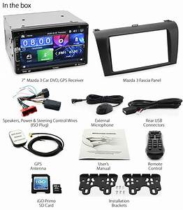 7 U0026quot  Mazda 3 Bk Car Dvd Gps Player Stereo Radio Head Unit