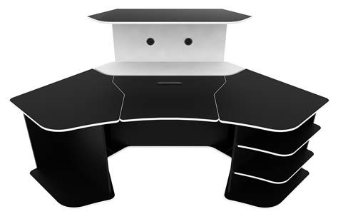 black tufted leather sofa gaming desk all about gaming tcg