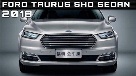 ford taurus sho sedan review rendered price specs