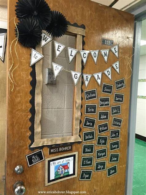 door decor farmhouse style classroom decor  burlap
