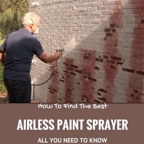 what you need to paint what is the best airless paint sprayer you need to know before buying