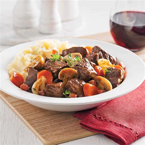 bœuf bourguignon recettes cuisine et nutrition