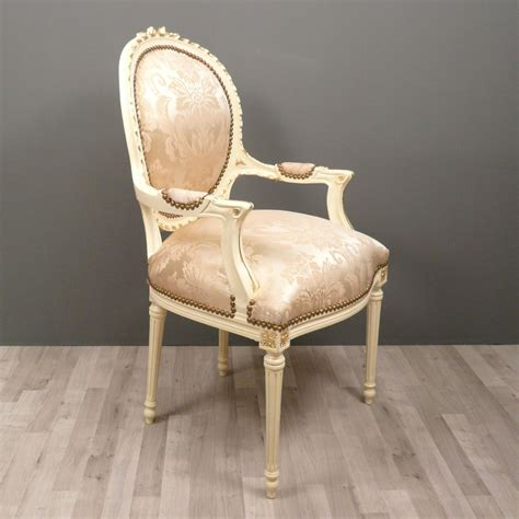 medallion armchair louis xvi baroque chairs