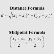 midpoint  distance formula tutorial sophia