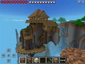 W2 Floating House In Minecraft Pe My Minecraft