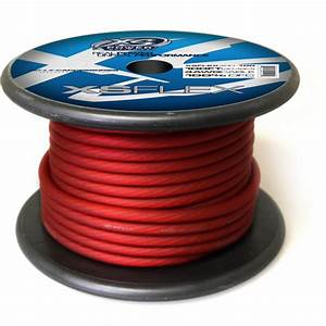 Xs Flex Red 4 Awg Cable