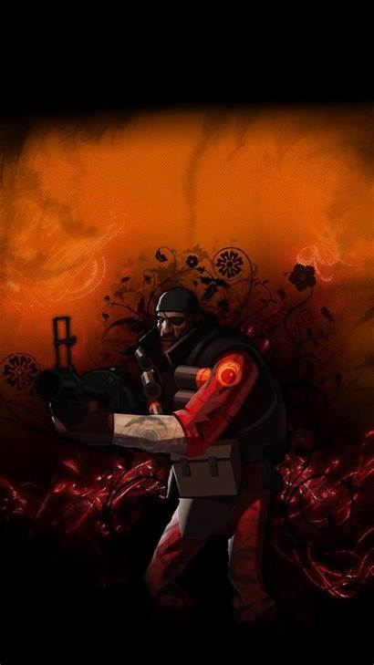 Tf2 Demoman Phone Fortress Team Games Mobile