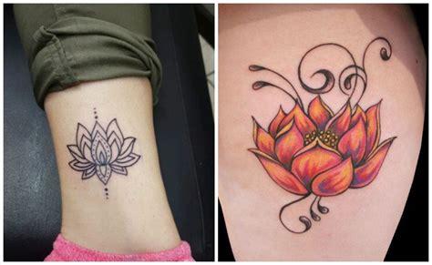 Tatuajes Para Mujeres En La Espalda Flor De Loto How to
