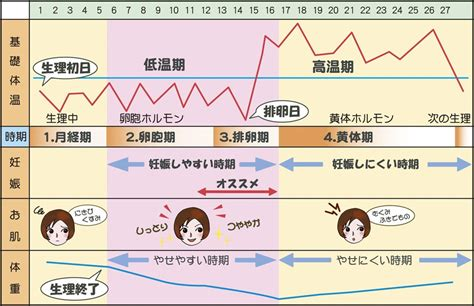 生理 前 の 体温