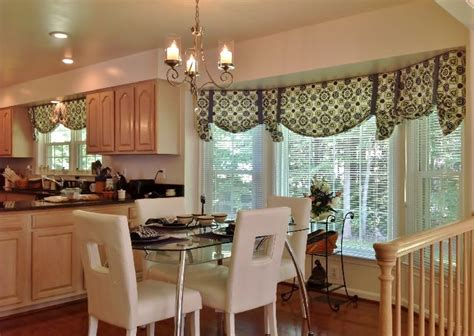 modern kitchen curtains  valances home decorating