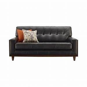Small leather sofas for trendy and comfortable small for Leather sectional sofa small space