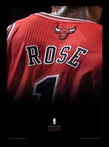 NBA - Derrick Rose Framed poster | Buy at Abposters.com