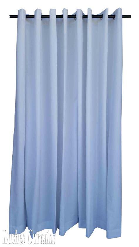 white 144 inch velvet curtain panel w ring grommet