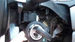 Ignition Cylinder Drilling  Replacement 2003 Ford Focus