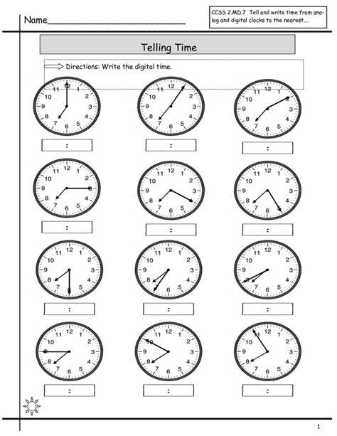 Free Elapsed Time Worksheets  Kiddo Shelter