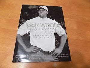 Tiger Woods: In Black and White,SIGNED BY JULES ALEXANDER ...