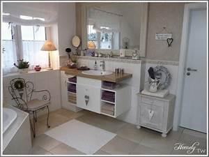 Badezimmer Landhausstil Ideen : bad 39 mein traumbadezimmer 39 sweet home zimmerschau ~ Bigdaddyawards.com Haus und Dekorationen