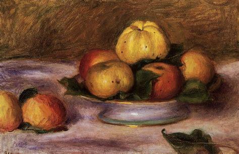 Pommes Sur Une Plaque De Pierre Auguste Renoir 1841 1919