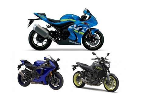 Mt Suzuki by Yamaha Yzf R1 Mt 09 And Suzuki Gsx R1000r Get Price