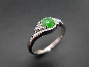 Jade engagement ring the precious gemstones for Precious stone wedding rings