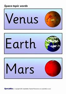 Space Primary Teaching Resources and Printables - SparkleBox