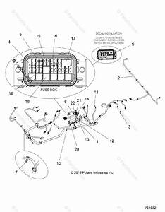 Polaris Side By Side 2015 Oem Parts Diagram For Electrical
