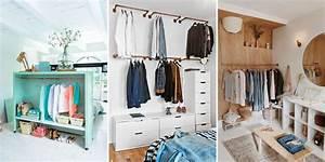 Faire Dressing Dans Une Chambre : nos meilleures id es de dressing ~ Premium-room.com Idées de Décoration