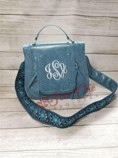 guitar strap crossbody monogrammed purse guitar strap monogrammed purses monogram tote bags