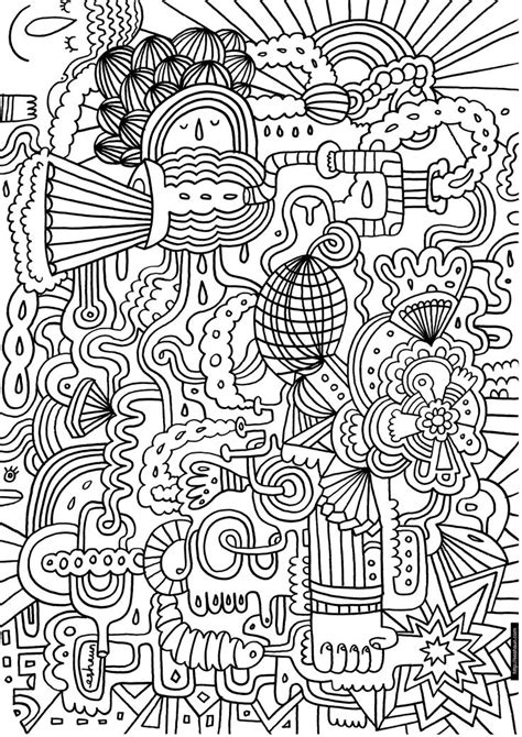 funky pipes coloring page colouring  pages pinterest coloring mandala coloring