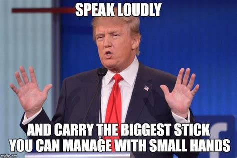 Small Penis Memes - meme version donald trump s small hands know your meme