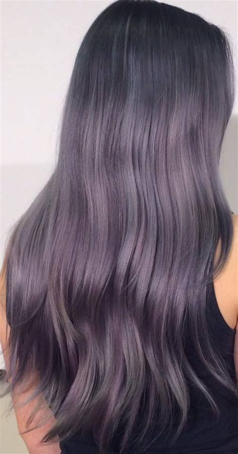 Pin By J Apter On Hair Hair Color Purple Purple Grey