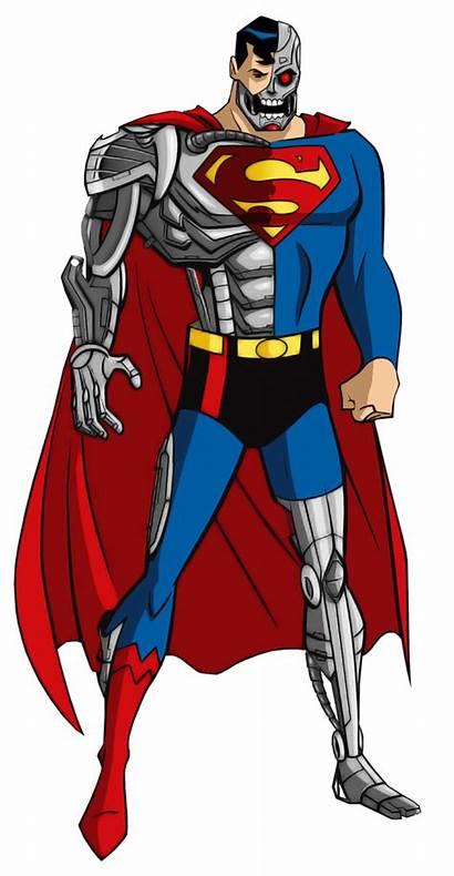 Cyborg Superman Deviantart Alexbadass Batman Dc Comic