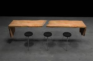 Table Bar But : upper upscale communal dining tables by live edge design ~ Teatrodelosmanantiales.com Idées de Décoration