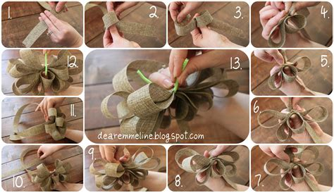 how to make a bow for a wreath spring wreath tutorial
