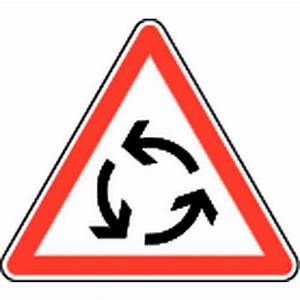 Panneau De Signalisation Personnalisé : panneau de signalisation de danger ab25 giratoire ~ Dailycaller-alerts.com Idées de Décoration