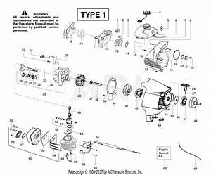 Poulan Ppb300e Gas Trimmer Type 1  300e